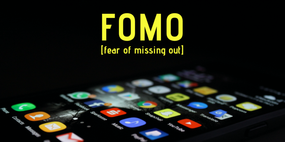Grafik FOMO - fear of missing out, Thomy Roecklin Digital